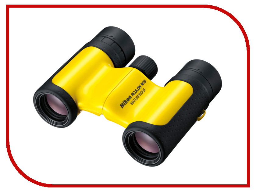 Бинокль Nikon 8x21 Aculon W10 Yellow<br>