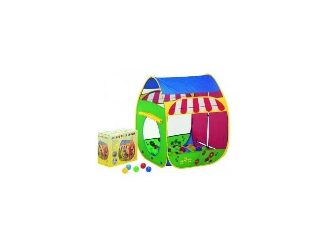 Домик Paradiso T02801 Смешной домик с мячами<br>