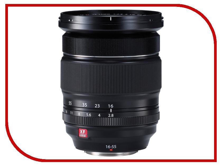 Объектив Fujifilm XF 16-55mm f/2.8 R LM WR X-Mount объектив fujifilm xf 90mm f 2 r lm wr