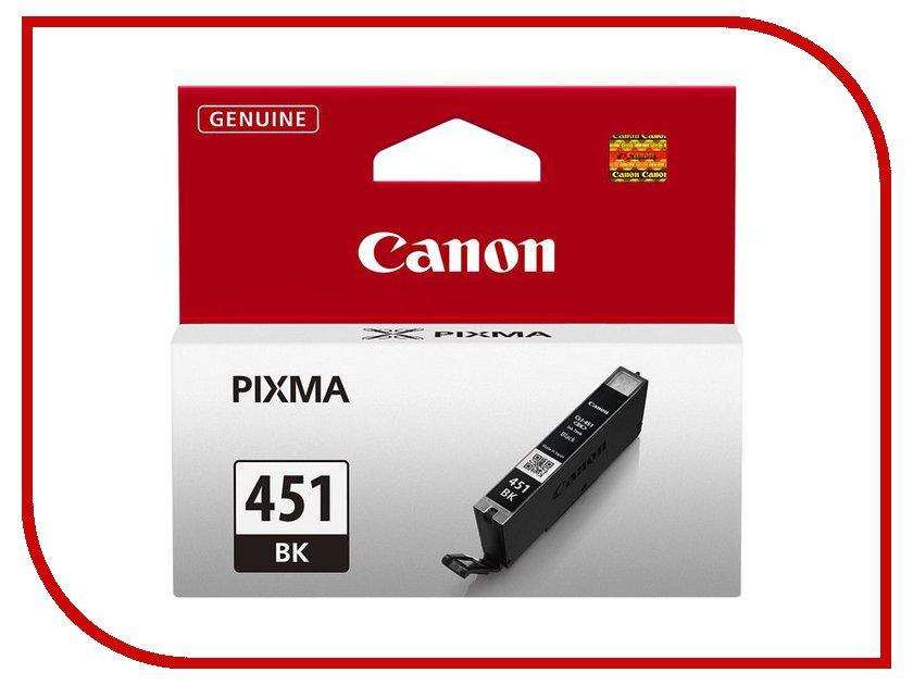 Картридж Canon CLI-451BK XL Black 6472b001 картридж canon cli 8c для ip4200 ip5200 0621b024