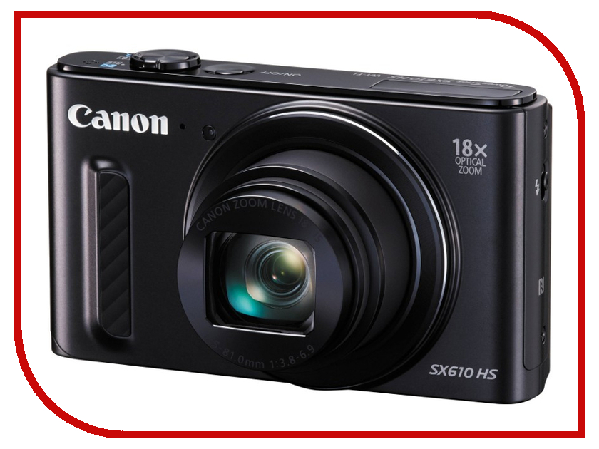 Фотоаппарат Canon PowerShot SX610 HS Black<br>