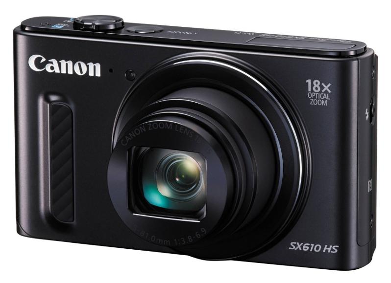 Фотоаппарат Canon PowerShot SX610 HS Black*