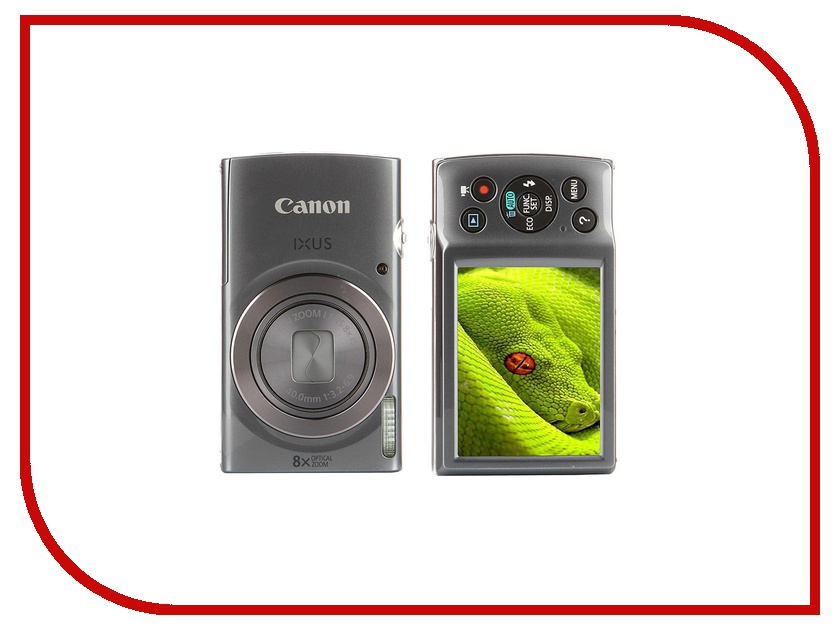 Фотоаппарат Canon IXUS 165 Silver фотоаппарат