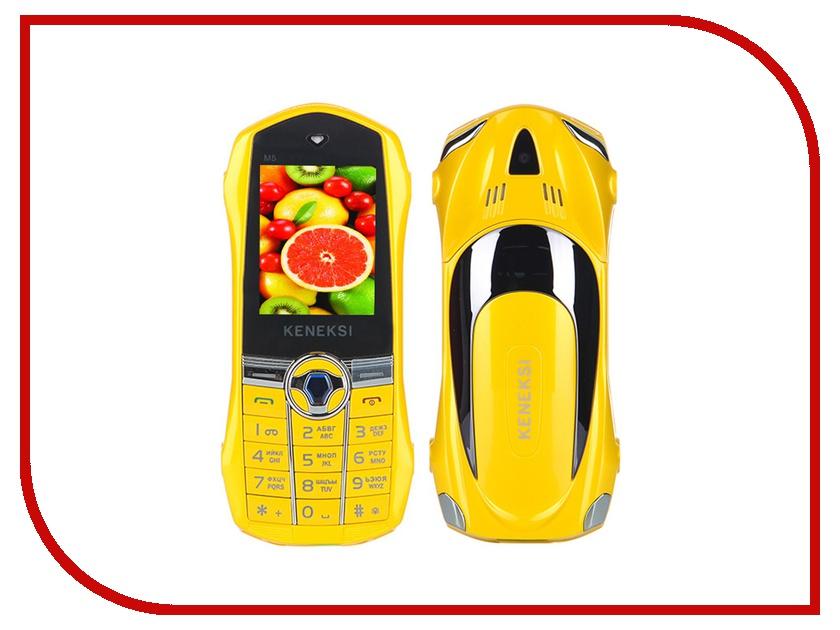 Сотовый телефон KENEKSI M5 Yellow