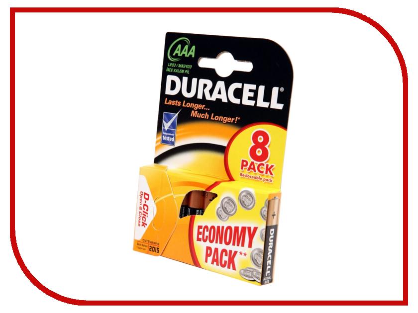 все цены на Батарейка AAA - Duracell LR03 BL8 (8 штук) онлайн