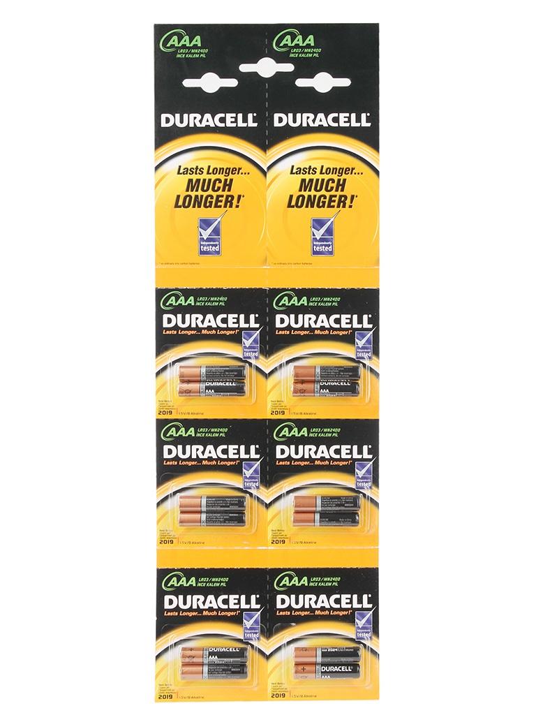 Фото - Батарейка AAA - Duracell LR03 BL12 2x6 (12 штук) батарейка aaa duracell lr03 2bl basic 2шт