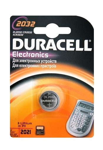 Батарейка CR2032 - Duracell BL1 (1 штука)