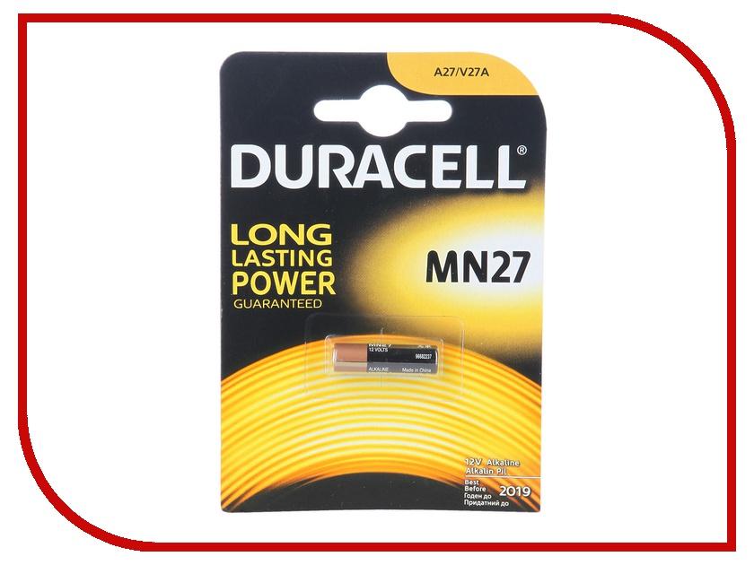 Батарейка A27 - Duracell MN27 BL1 (1 штука)<br>
