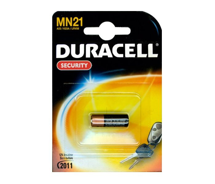 Батарейка A23 - Duracell MN21 BL1 (1 штука) батарейка duracell mn21 a23 1 шт