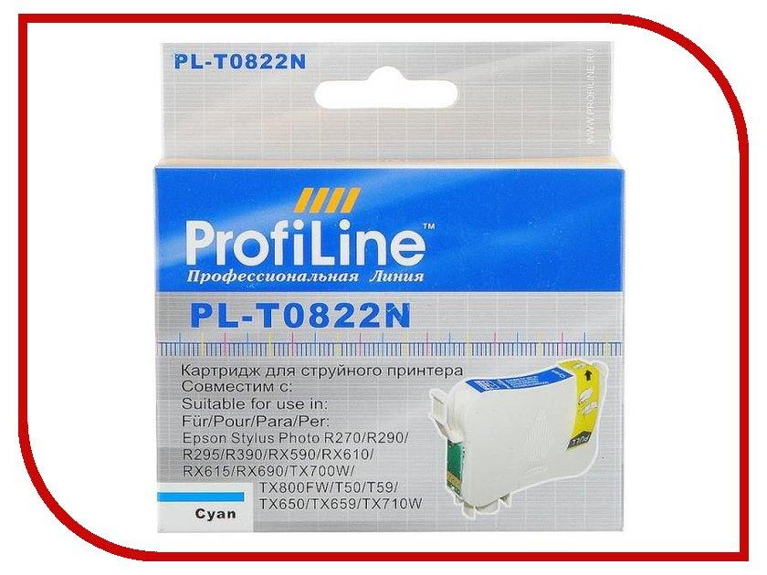 Картридж ProfiLine PL-0822 for Epson R270/R290/R295/R390/RX590/RX610/RX615/RX690/1410/TX700W/TX800FW/T50 Cyan