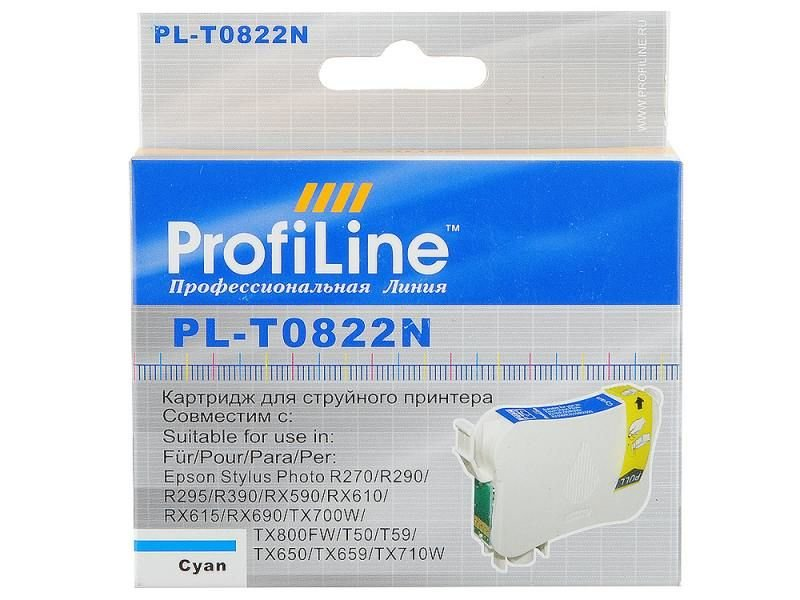 Картридж ProfiLine PL-0822 for Epson R270/R290/R295/R390/RX590/RX610/RX615/RX690/1410/TX700W/TX800FW/T50 Cyan waste ink tank pad sponge for epson r280 r290 t50 t60 a50 l800 l801 r330 r390 p50 p60 rx600 rx610 rx690 px650 r285 r295 rx615