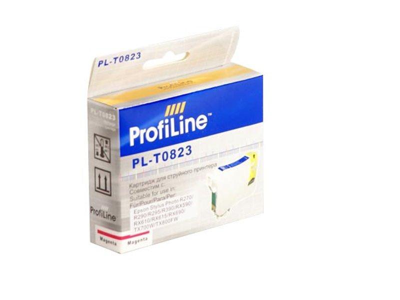 Картридж ProfiLine PL-0823 / PL-0823N for Epson R270/R290/R295/R390/RX590/RX610/RX615/RX690/1410TX700W/TX800FW/T50 Magenta
