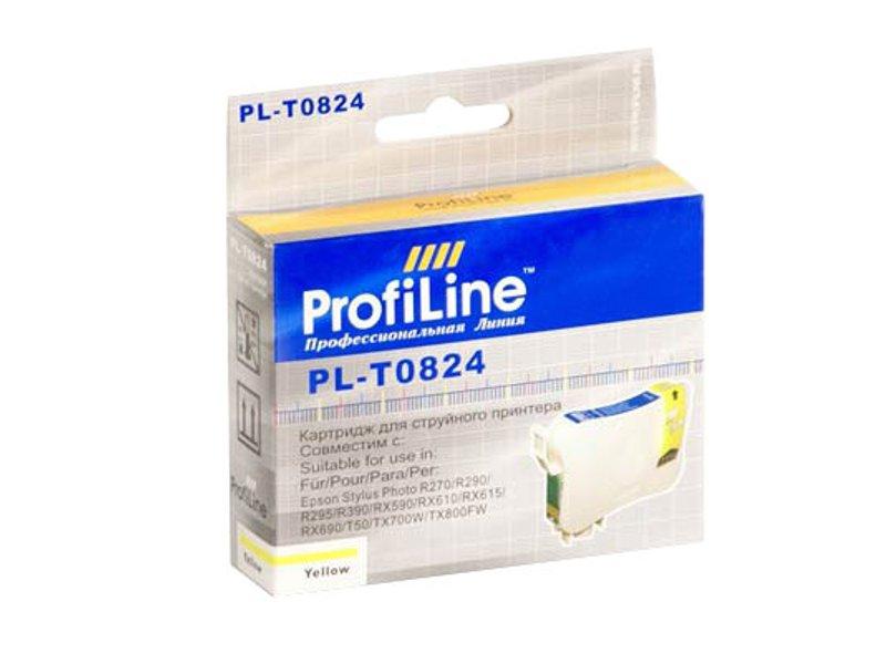 Картридж ProfiLine PL-0824 for Epson R270/R290/R295/R390/RX590/RX610/RX615/RX690/1410/TX700W/TX800FW/T50 Yellow цены