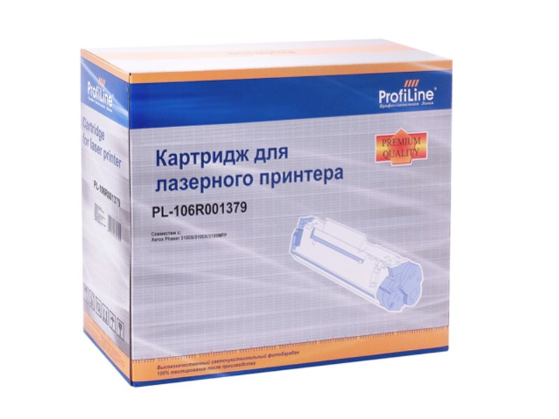 Картридж ProfiLine PL-106R01379 for Rank Xerox Phaser 3100S/3100X/3100 4000 копий<br>
