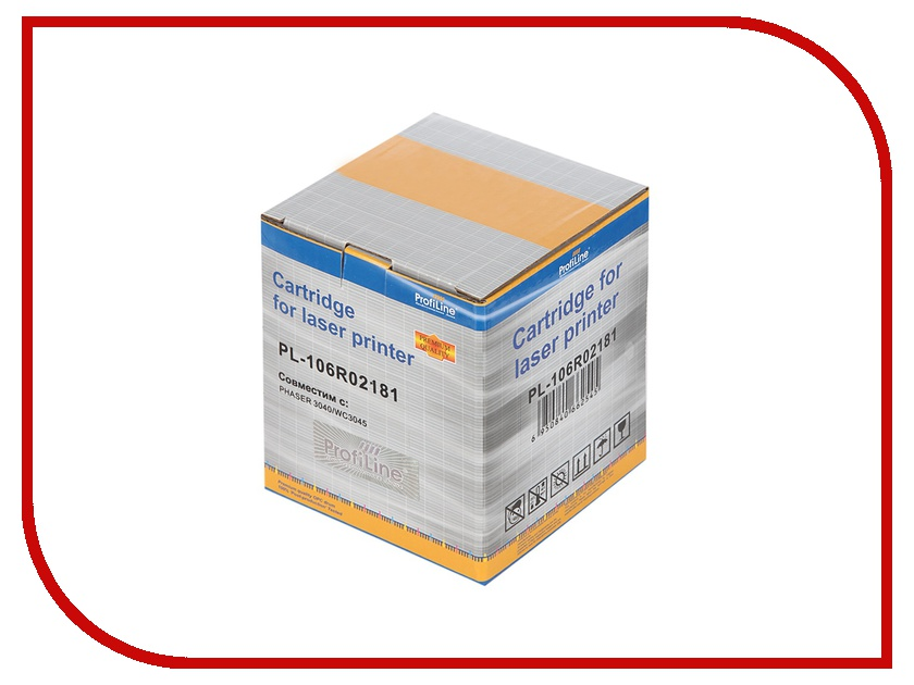 Картридж ProfiLine PL-106R02181 for Rank Xerox 3010/3040/WC3045 1000 копий
