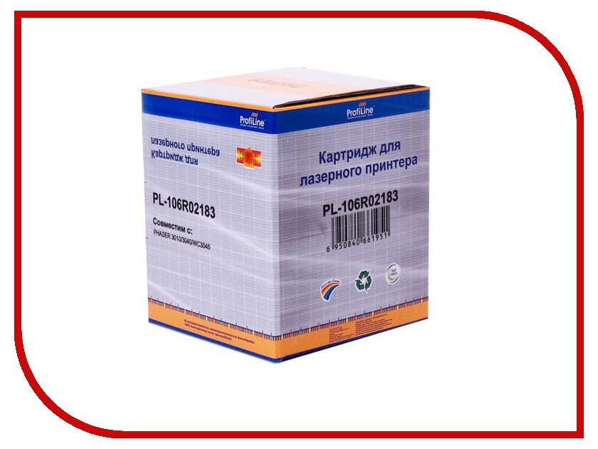 Картридж ProfiLine PL-106R02183 for Rank Xerox 3010/40/WC3045 2300 копий