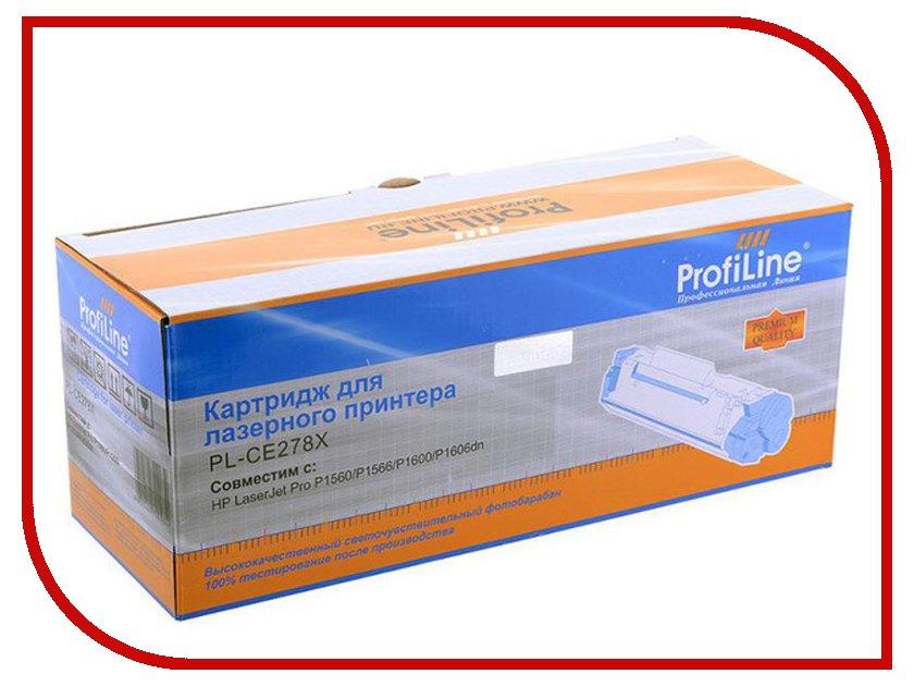 Картридж ProfiLine PL-CE278X/726/728 for HP P1560/P1566/P1600/P1606dn/M1536/Canon MF4410/4420/4430/4450/4550d/4570d/4580dn/4870dn/D520/LBP-6200D 2500 копий<br>
