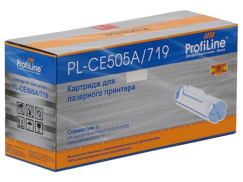 Аксессуар ProfiLine PL-CE505A/719 for HP P2030/P2035/P2050/P2055/P2055D/P2055DN/Canon LBP-6300dn/6650dn/MF5840dn/5880dn/MF5940 2300 копий