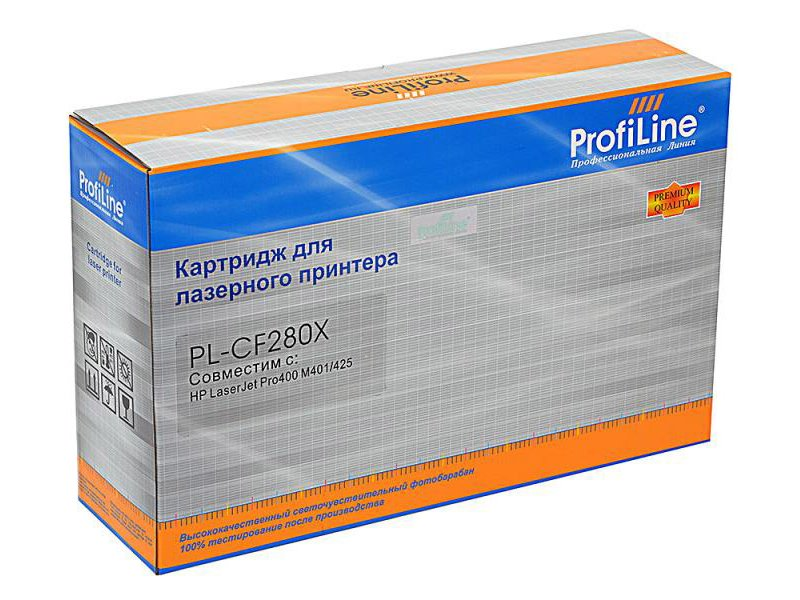 Картридж ProfiLine PL-CF280X for HP 400/M401/425 6900 копий
