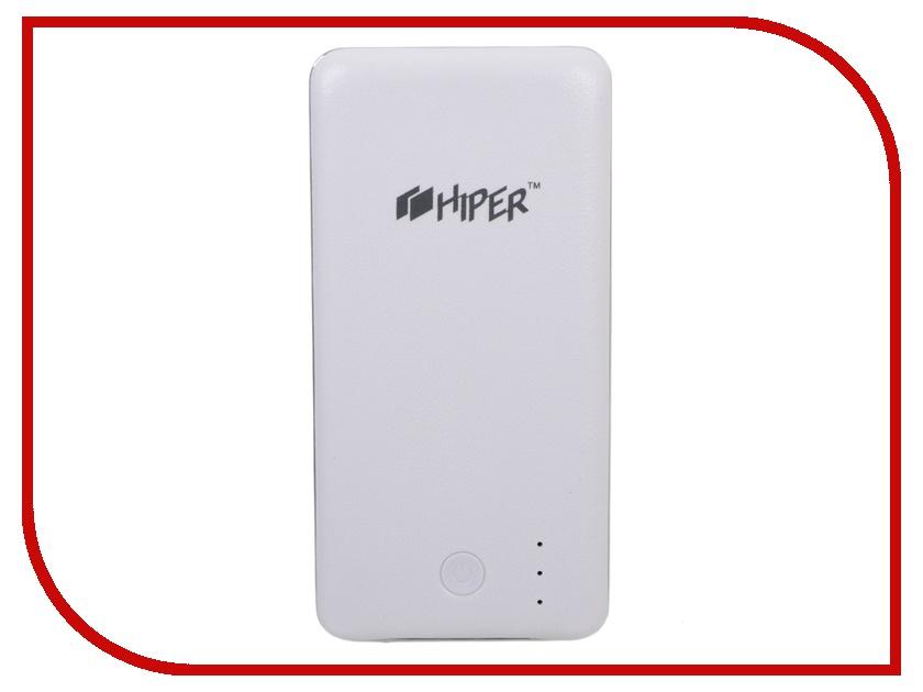 Аккумулятор HIPER Power Bank XP6500 6500 mAh White<br>