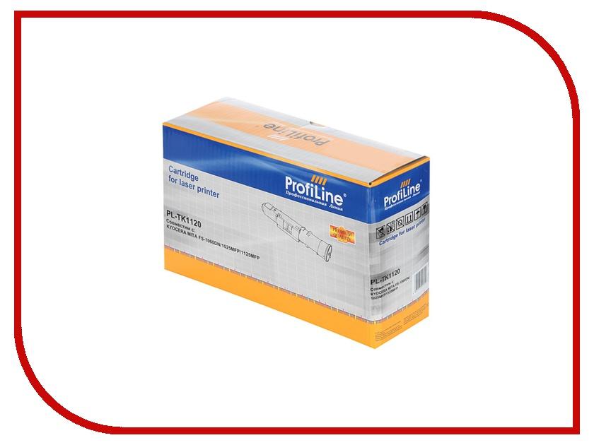 Картридж ProfiLine PL-TK-1120 for Kyocera FS-1060DN/1125MFP/1025MFP 3000 копий картридж colouring cg tk 1120 для kyocera fs 1060dn 1125mfp 1025mfp