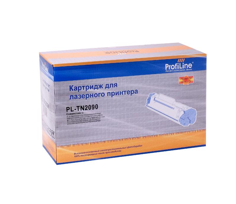 Картридж ProfiLine PL-TN-2090 for Brother HL-2130/2132/2132R/2135W/DCP-7055/7057/7057R 1000 копий<br>