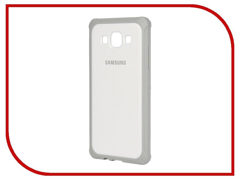 Аксессуар Чехол-накладка Samsung SM-A500F Galaxy A5 ProtectiveCover White-Grey SAM-EF-PA500BSEGRU<br>