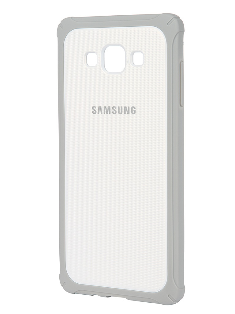 Аксессуар Чехол Samsung Galaxy A7 ProtectiveCover White-Grey SAM-EF-PA700BSEGRU<br>