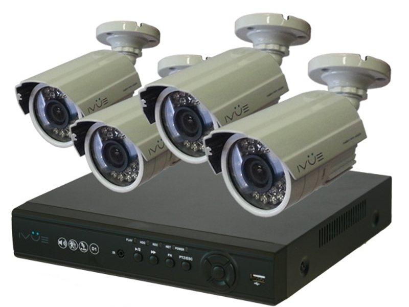 Видеонаблюдение iVUE Начальный 4 6804VHK-CB15-CM6030 от Pleer