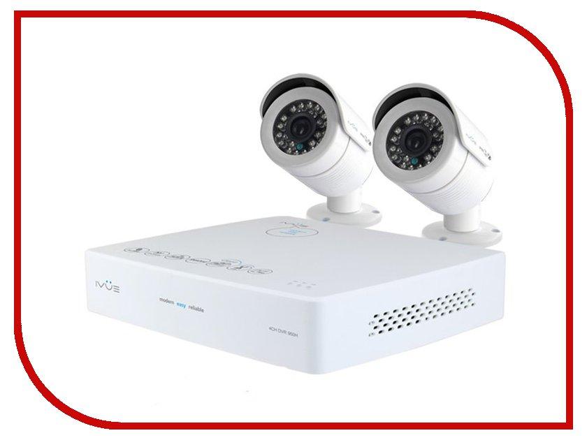Видеонаблюдение iVUE Mini 960Н PRO 4+2 800 ТВЛ 6004K-2CK20-1099ICR от Pleer