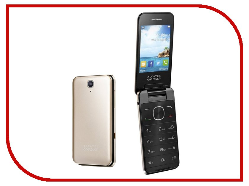 Сотовый телефон Alcatel OneTouch 2012D Soft Gold