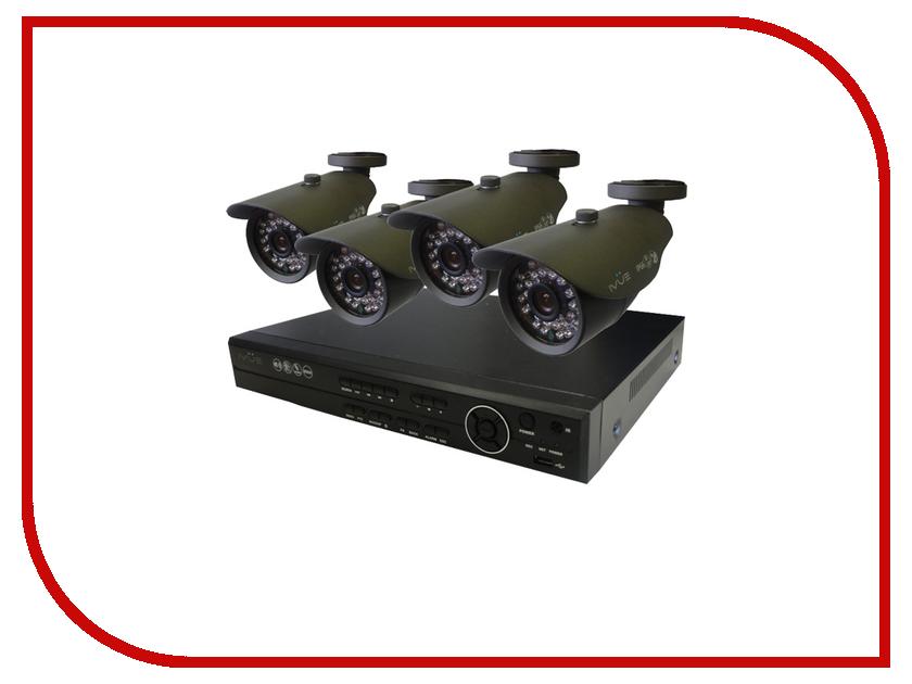 Видеонаблюдение iVUE Стандарт 4 700 ТВЛ 6804VK-CI25B-70A