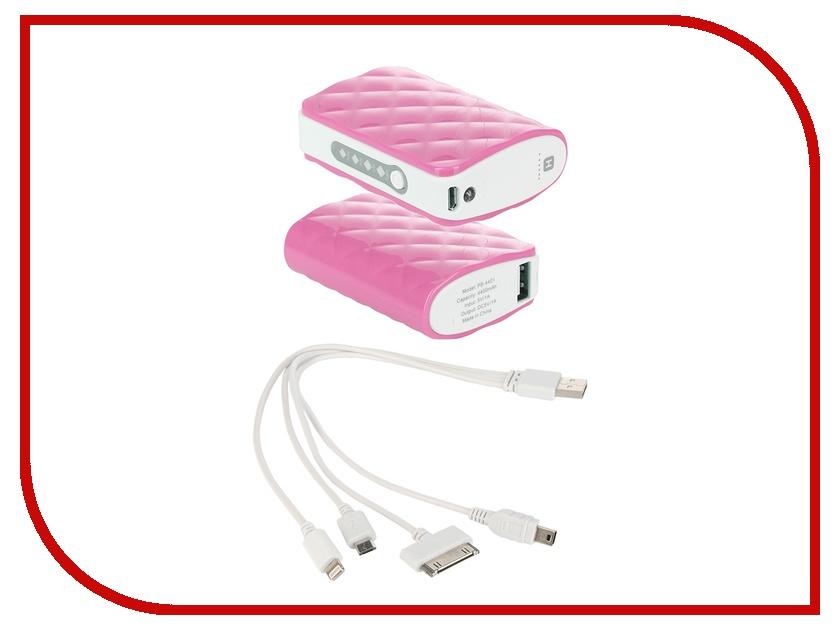 Аккумулятор HARPER PB-4401 4400 mAh Pink