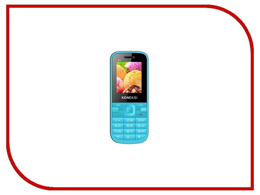 Сотовый телефон KENEKSI E2 Blue<br>