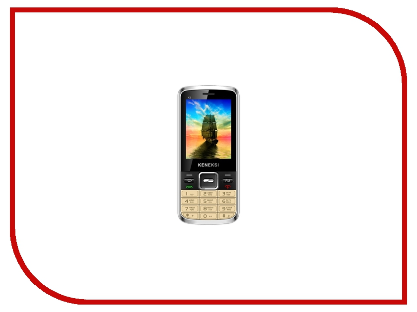 Сотовый телефон KENEKSI K6 Gold