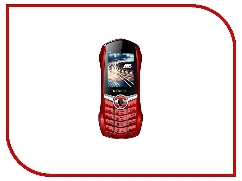 Сотовый телефон KENEKSI M5 Red