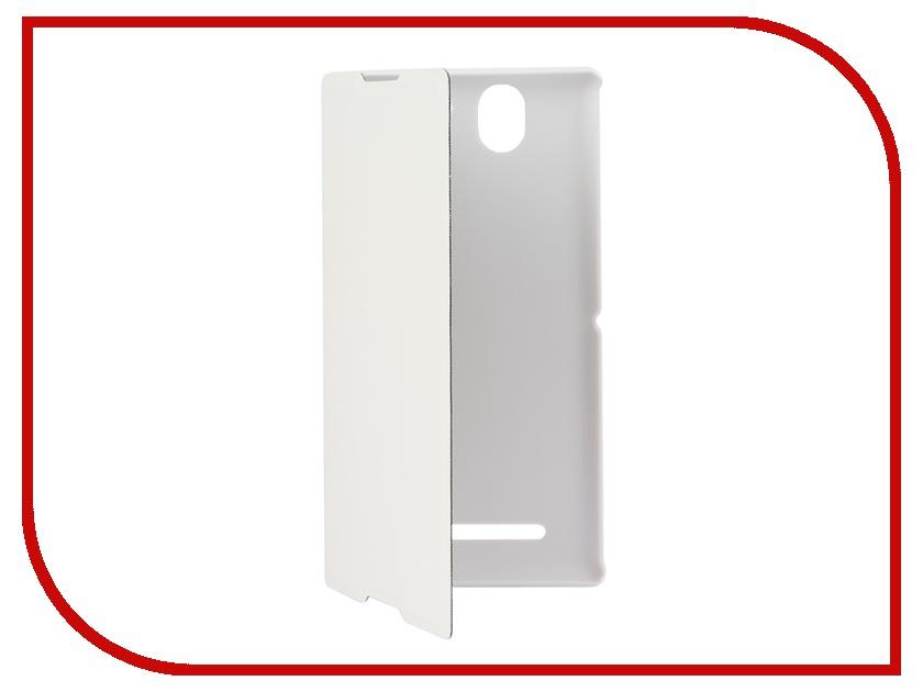 ��������� ����� Sony Xperia C3 Muvit MFX Easy Folio Case White SEEAF0012