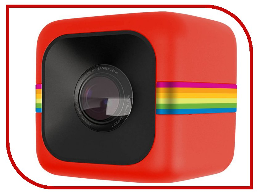 Экшн-камера Polaroid Cube Red<br>