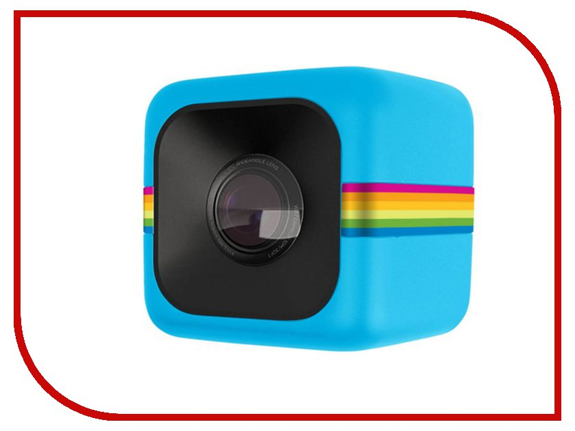 Экшн-камера Polaroid Cube Blue<br>