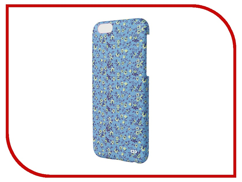 Аксессуар Чехол OXO Floral Cover Case Liberty для iPhone 6 4.7-inch Blue XCOIP64FLIBL6<br>