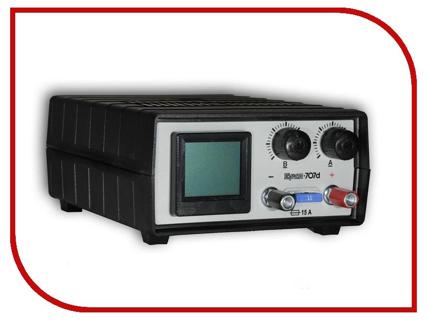 Зарядное устройство для автомобильных аккумуляторов Кулон 707D<br>