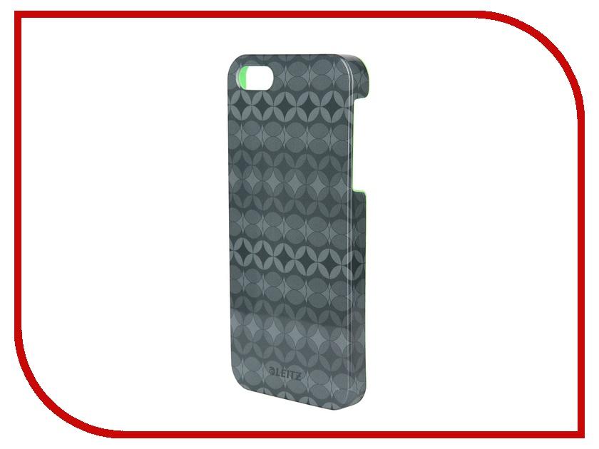 Аксессуар Защитная панель Leitz Retro Chic для iPhone 5 63730089 Grey<br>