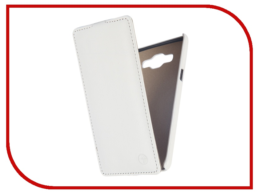 Аксессуар Чехол Samsung SM-A500 Galaxy A5 Pulsar Shellcase White PSC0396