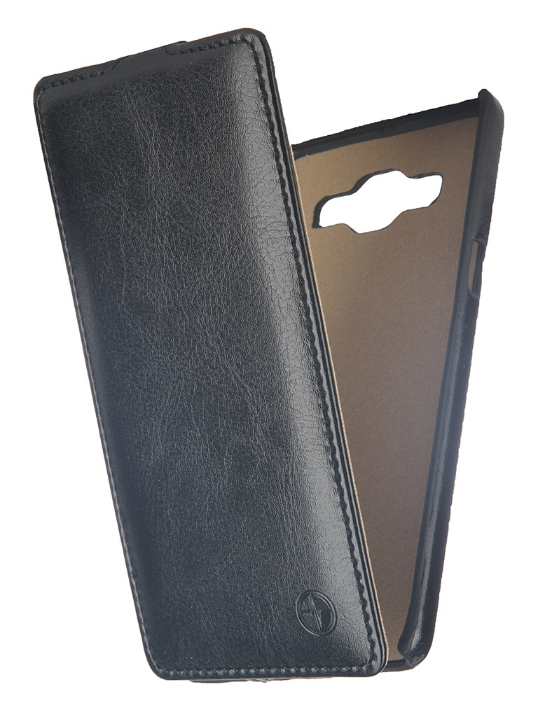 Аксессуар Чехол Samsung SM-A500 Galaxy A5 Pulsar Shellcase Black PSC0394<br>