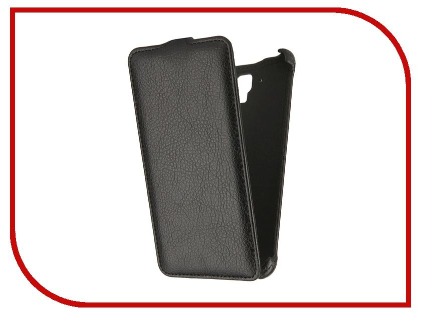Аксессуар Чехол для Lenovo S8 Gecko Black аксессуар аккумулятор lenovo bl210 partner 2000mah пр034367