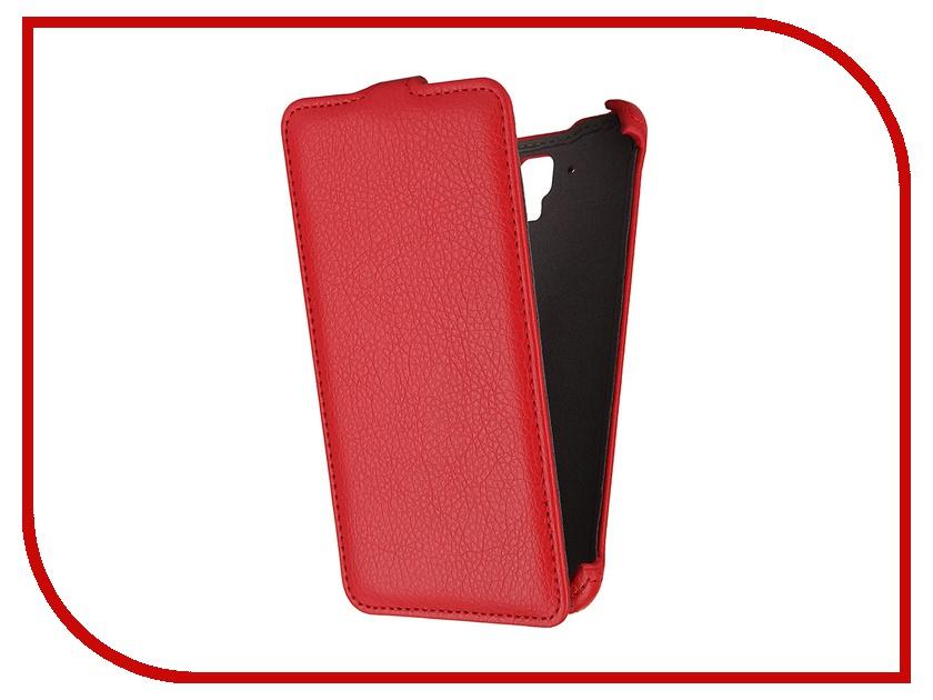 Аксессуар Чехол Lenovo S8 Gecko Red<br>