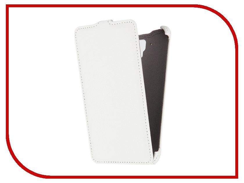 Аксессуар Чехол Lenovo S8 Gecko White<br>