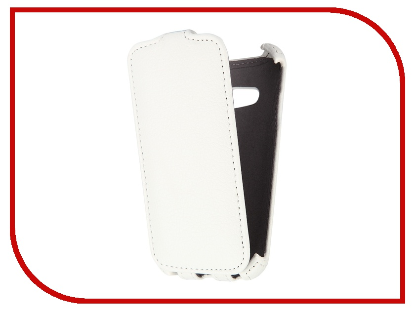 Аксессуар Чехол Samsung G313 Galaxy Ace 4 Gecko White GG-F-SGACE4-WH<br>