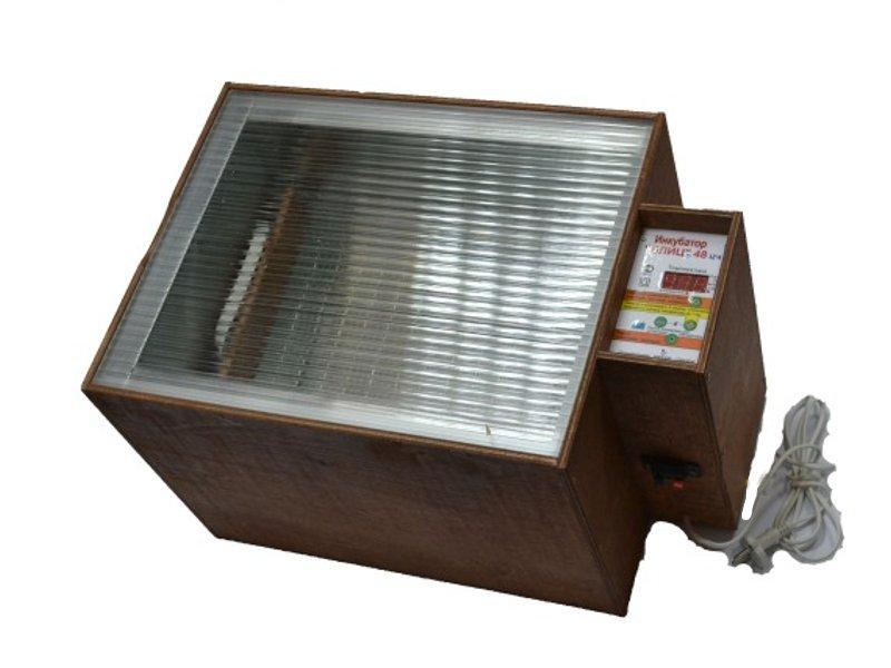 Инкубатор Блиц 48 (48 яиц)
