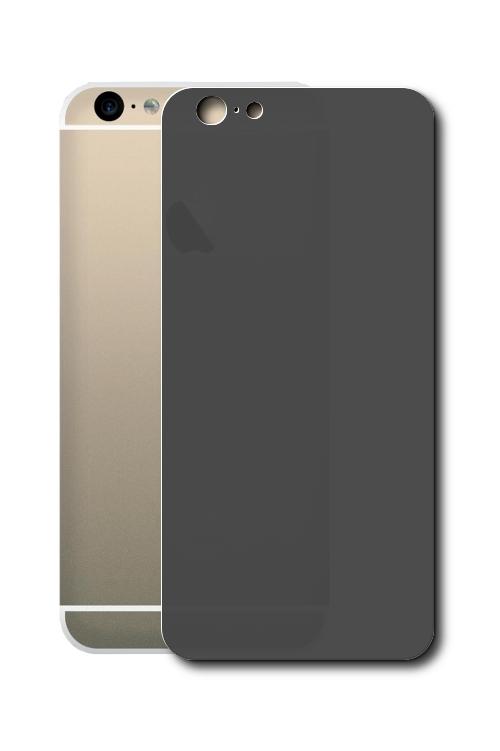 Аксессуар Стекло противоударное Ainy 0.33mm for iPhone 6 Заднее Black